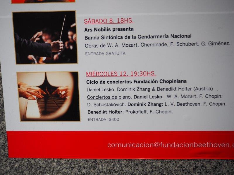Konzertreise Buenos Aires